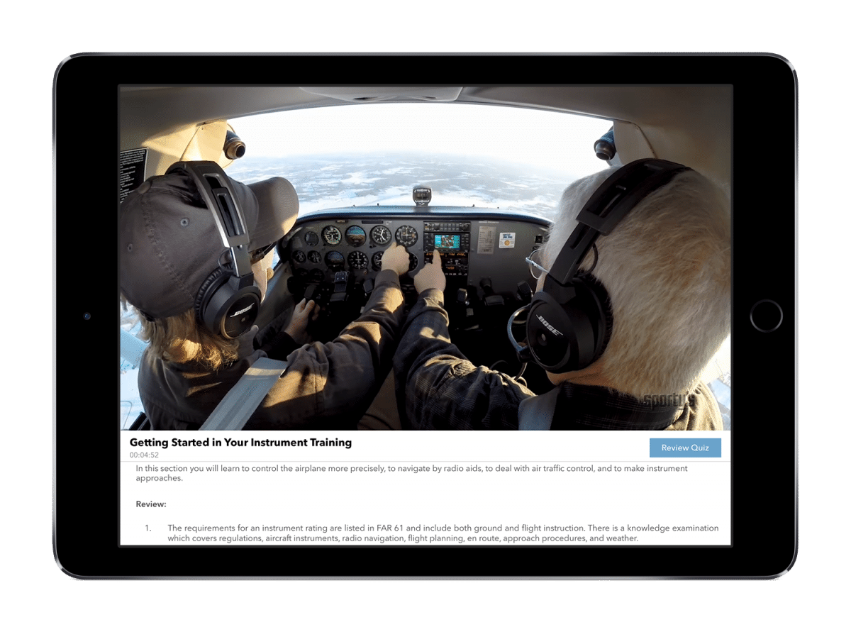 6a1e546e23c Instrument Rating Course (Online and App) 2019 Edition. 🔍.  199.99
